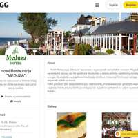 Przykładowy profil firmowy w GG, hotelu Meduza w Mielnie.